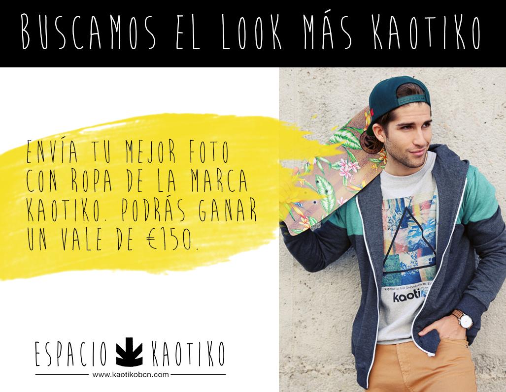 Look Kaotiko · Sorteo