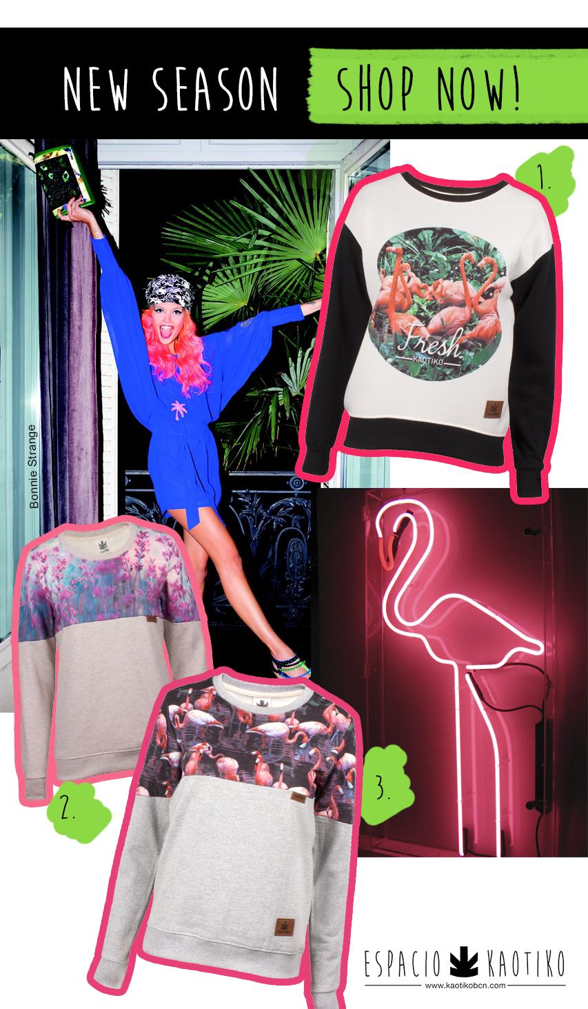New Season Flamingos Blog Kaotiko Street Style