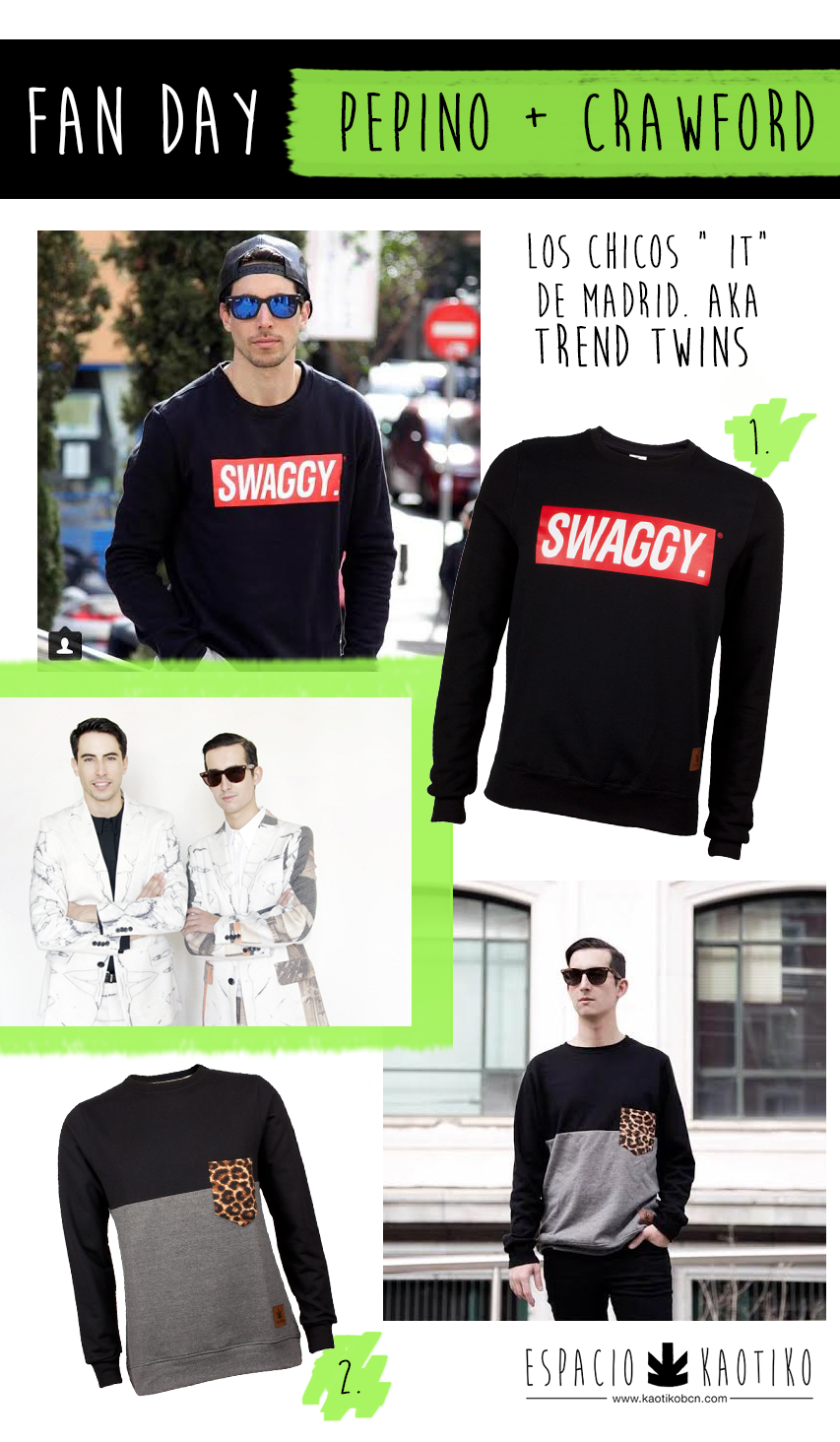 Pepino Crawford Blog Moda Kaotiko Street style