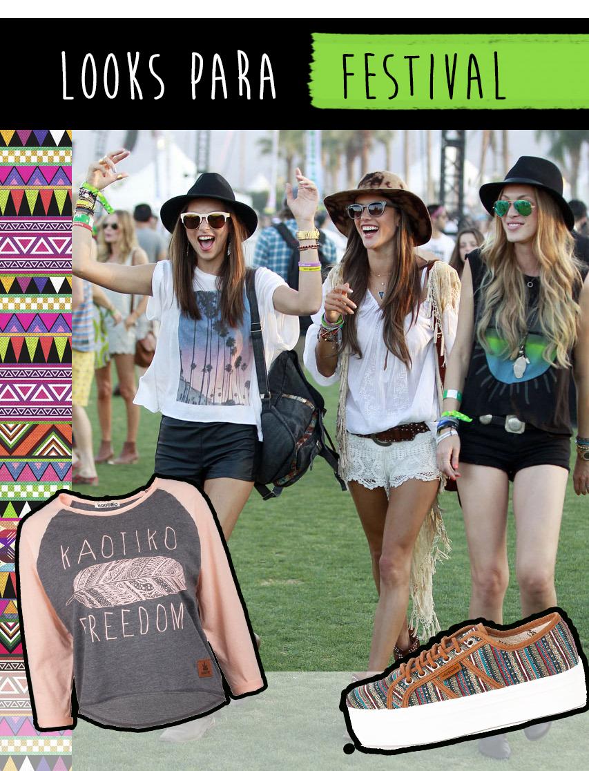Festival looks en blog kaotiko streetwear