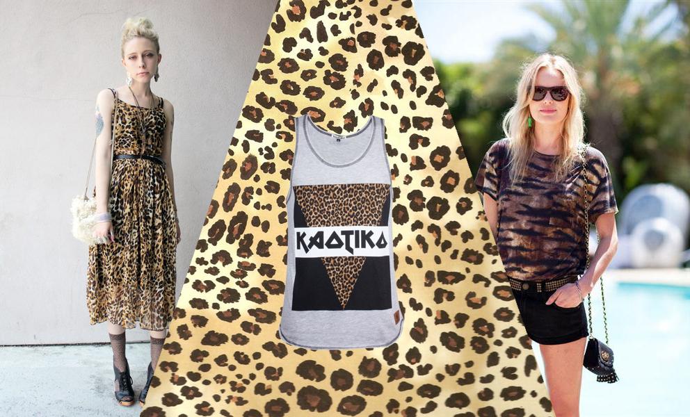 Festival looks en blog kaotiko streetwear leopard print