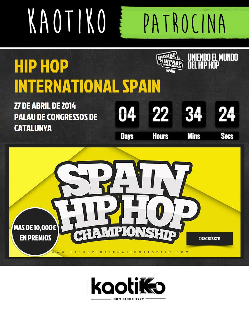 Hip Hop International Spain Blog Kaotiko