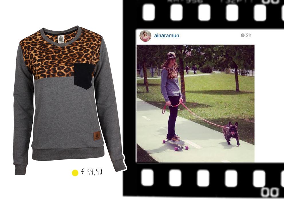 Kaotiko skate streetwear leopard