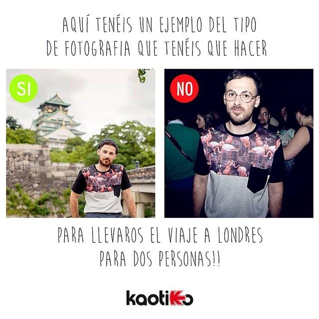 Londres Concurso Kaotiko streetwear