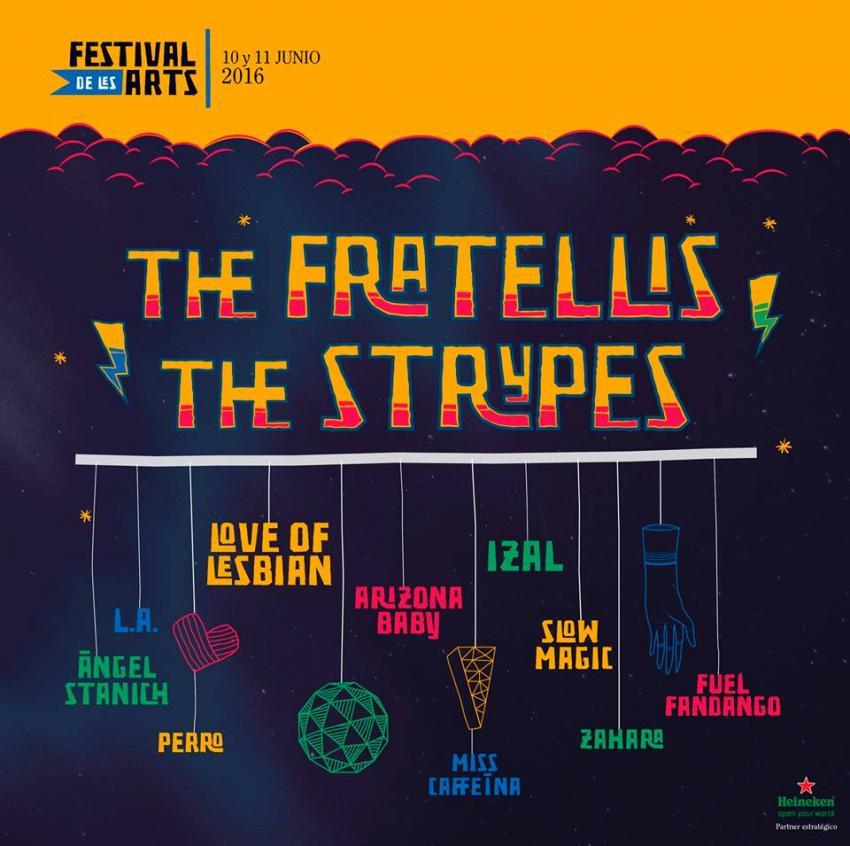 cartel Festival de Les Arts 2016